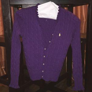 Vibrant Purple Ralph Lauren Sweater💜